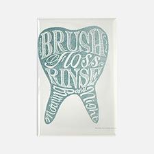 Cute Dental Rectangle Magnet