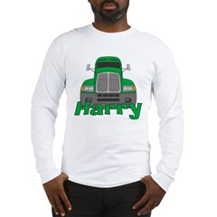 Trucker Harry Long Sleeve T-Shirt