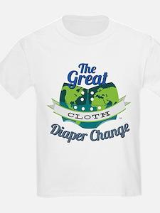 Great Diaper Change Final Logo_SM_no b.. T-Shirt