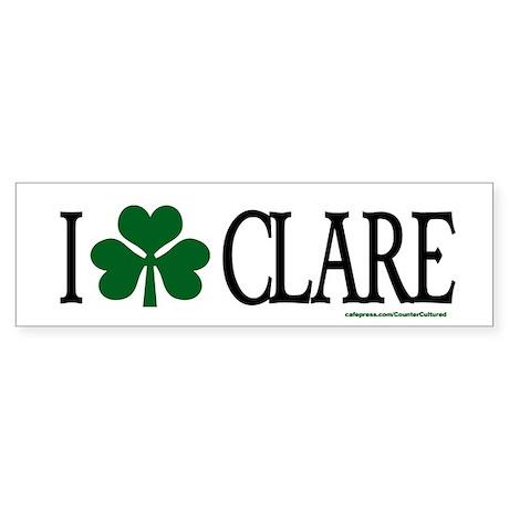 Clare Bumper Sticker