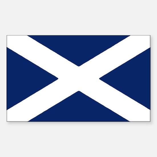 Scottish Flag Auto Decal / Bumper Stickers