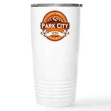 Park City Tangerine Travel Coffee Mug