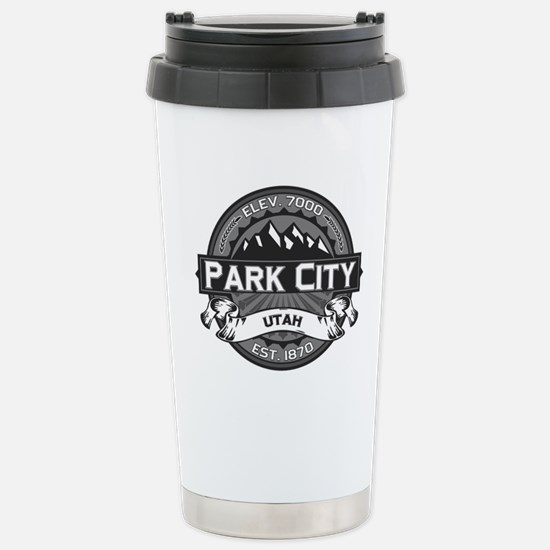 Park City Grey Stainless Steel Travel Mug