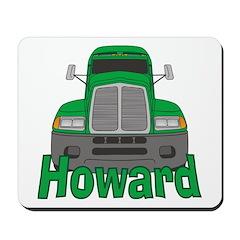 Trucker Howard Mousepad