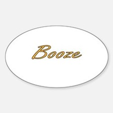 Booze Decal