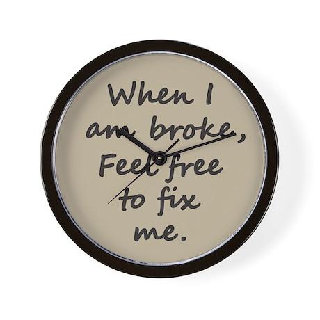 Fix Me Wall Clock