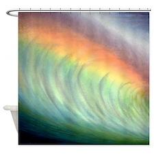 Banzai Pipeline Art Tropical Shower Curtain