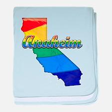 Anaheim, California. Gay Pride baby blanket