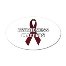 Awareness Matters 22x14 Oval Wall Peel