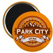 Park City Tangerine Magnet