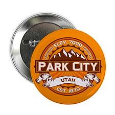 """Park City Tangerine 2.25"""" Button"""