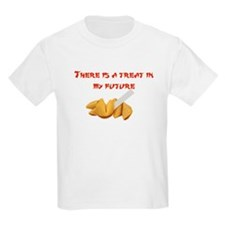 There is a treat in my future Kids T-Shirt