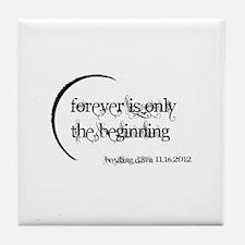 Breaking Dawn 2 Forever Tile Coaster