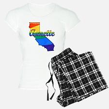 Annette, California. Gay Pride Pajamas
