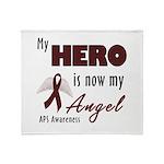 My Hero is Now My Angel Throw Blanket
