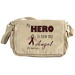 My Hero is Now My Angel Messenger Bag