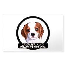 Cavalier Puppy Decal