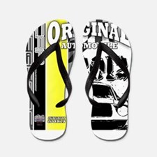 Original Muscle Car Yellow Flip Flops