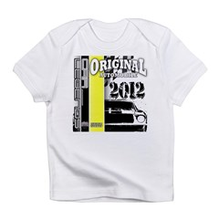 Original Muscle Car Yellow Infant T-Shirt