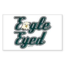 Eagle Eyed Rectangle Decal