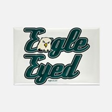 Eagle Eyed Rectangle Magnet