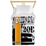 Original Muscle Car Orange Twin Duvet
