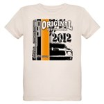Original Muscle Car Orange Organic Kids T-Shirt