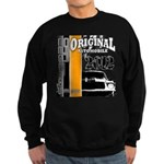 Original Muscle Car Orange Sweatshirt (dark)