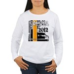 Original Muscle Car Orange Women's Long Sleeve T-S