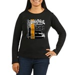 Original Muscle Car Orange Women's Long Sleeve Dar
