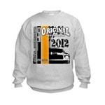 Original Muscle Car Orange Kids Sweatshirt