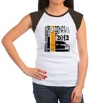 Original Muscle Car Orange Women's Cap Sleeve T-Sh