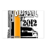 Original Muscle Car Orange Postcards (Package of 8
