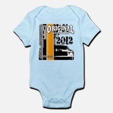 Original Muscle Car Orange Infant Bodysuit
