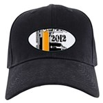Original Muscle Car Orange Black Cap