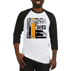 Original Muscle Car Orange Baseball Jersey