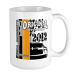 Original Muscle Car Orange Large Mug