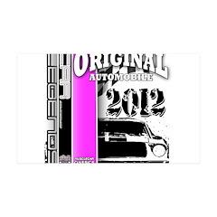 Original Muscle Car Pink 38.5 x 24.5 Wall Peel