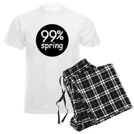 99% spring round Men's Light Pajamas