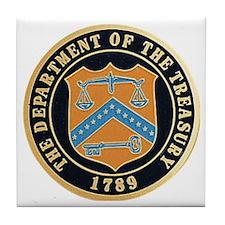 Treasury Department Tile Coaster