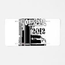 Original Muscle Car Black Aluminum License Plate