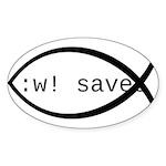 :w! saves ichthys (black)