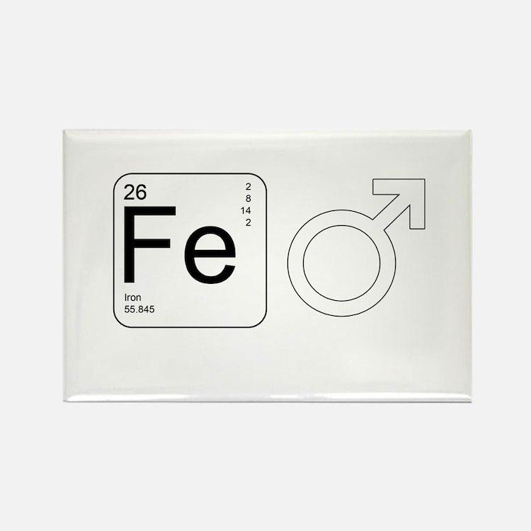 Iron Man Rectangle Magnet (100 pack)