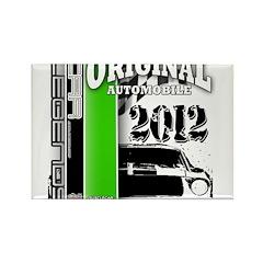 Original Muscle Car Green Rectangle Magnet (10 pac