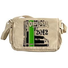 Original Muscle Car Green Messenger Bag