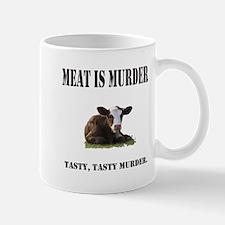 Meat is murder. Mug