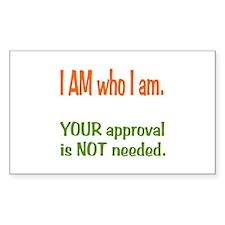 I Am who I am Decal