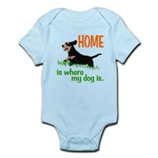 Home is where Infant Bodysuit