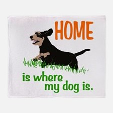 Home is where Throw Blanket