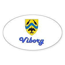 Viborg Modern Oval Decal